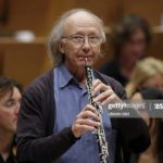 (GERMANY OUT) Holliger, Heinz - Musician, Oboist, Switzerland - performing in Cologne, Germany, Philharmonie (Photo by Brill/ullstein bild via Getty Images)